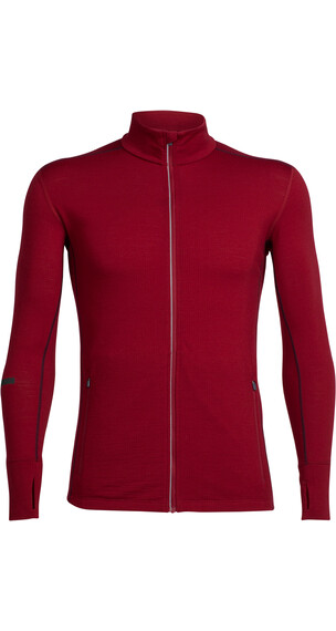 Icebreaker Incline sweater Heren rood